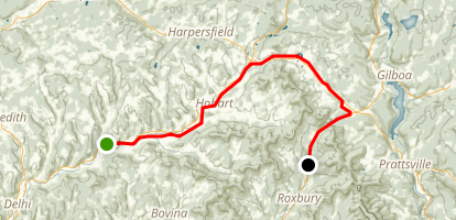 Catskill Scenic Trail Map
