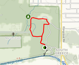 Greece Canal Park Trail Map