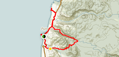 Pororari River Loop Map
