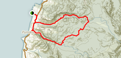 Punakaiki Loop Map