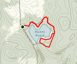 Hunt's Pond State Park Campground Map