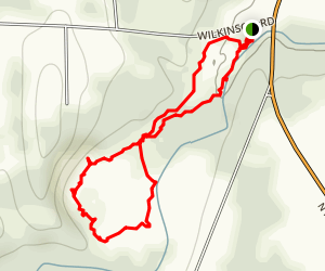 Ganargua Creek Meadow Preserve Trails Map