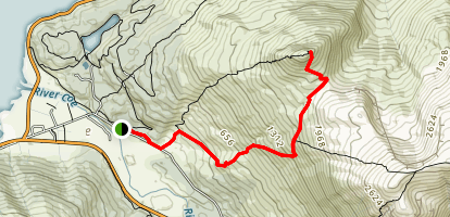 Pap of Glencoe (Sgorr na Ciche) Map