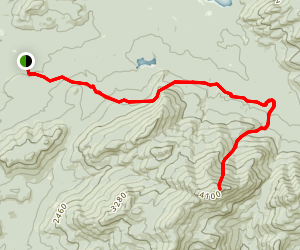 Seward Mountain Trail Map