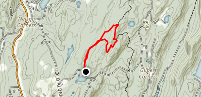 Chimney Top Trail Map