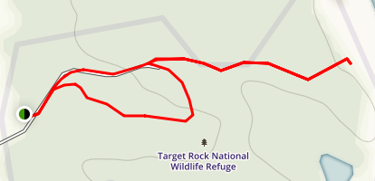 Target Rock National Wildlife Refuge Loop Map