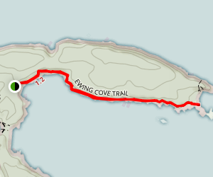 Ewing Cove Trail Map