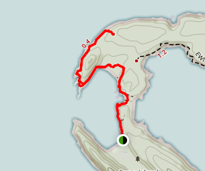 Lawson Bluffs Trail Map