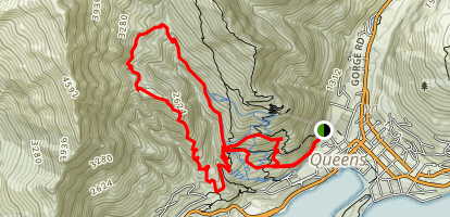 Hammy's Track to Fernhill Loop Map