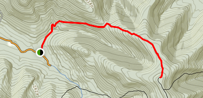 Spruceton Trail Map