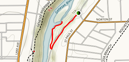 Seth Green Trail Map