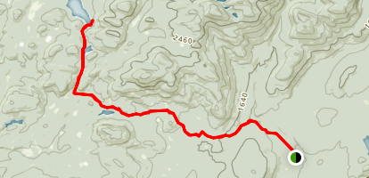 Silver Lake Trail Map