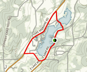 Lake Moraine Loop Trail Map