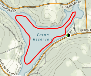 Eaton Reservoir Map