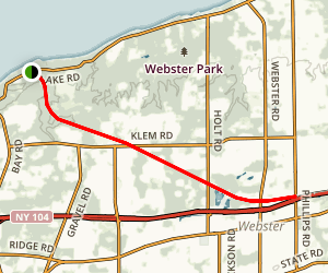 Webster Hojack Trail Map