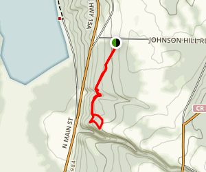 Johnson Hill Trail Map