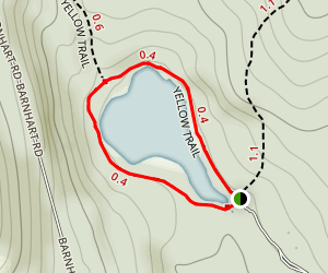 Little Pond Loop Trail Map