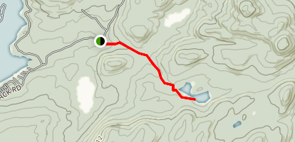 Spectacle Pond Trail Map