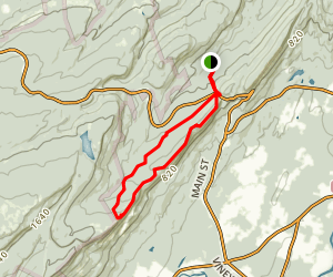 Coxing Trail Loop Map