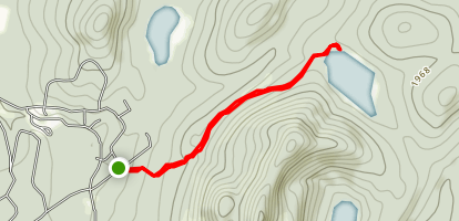 Clear Pond Trail Map