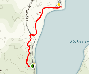 Stokes Inlet Map