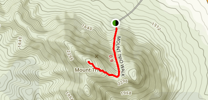 Mount Trio Walk Map