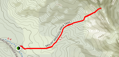 Mount Maggog Walk Map