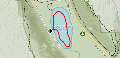 Labrador Pond Map