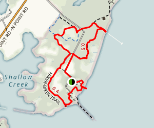 North Point Loop Trail Map