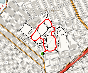 McCarren Park Loop Map