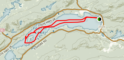 Fulton Chain Lakes Map