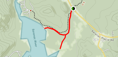 Oseetah Lake Map