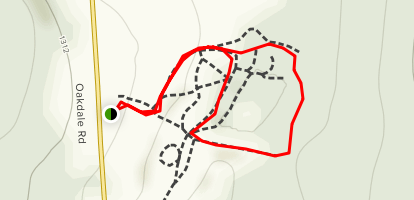 Finch Hollow Nature Center Trail Map