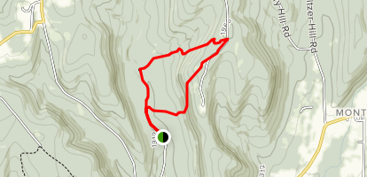 Goundry Hill State Forest Map