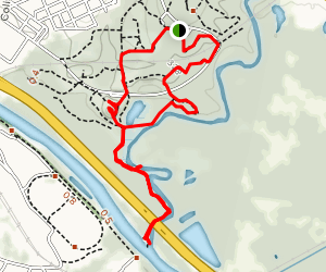 Bartram and River Loop Trail Map