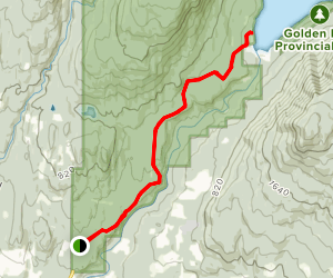 Alouette Lake Trail Map