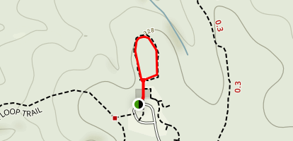 Longleaf Loop Trail Map