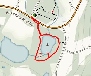 Betty Allen Pond Trail Map