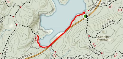 Lake Sebago Beach Trail Map