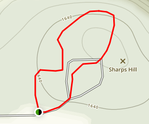 Sharps Hill Map