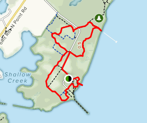 North Point Trail Map