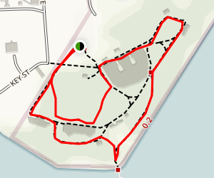 Fort Howard Park Trail Map
