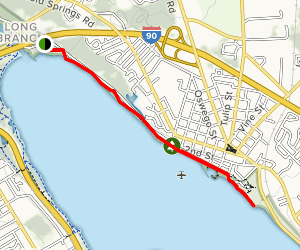 Shoreline Walking Trail Map