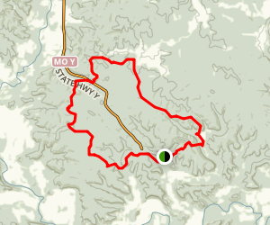 Castor River Conservation Area Loop Trail Map