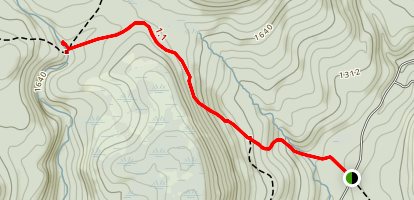 Vernooy Falls Trail Map