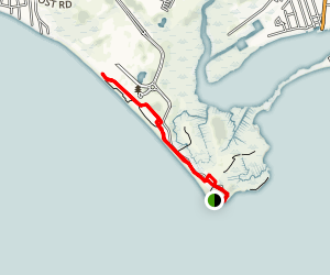 Hammonasset Beach State Park Walk Map