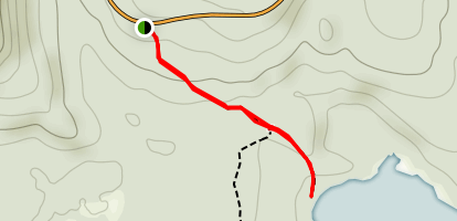 Cheney Pond to Boreas (Lester Flow) Paddle Map