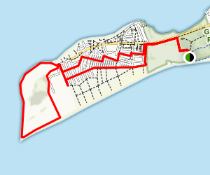 Breezy Point Tip Map