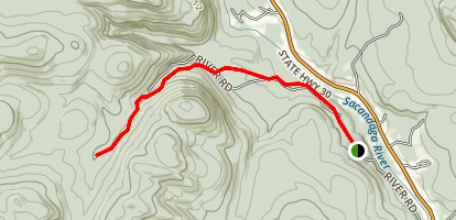 Groff Creek Trail Map