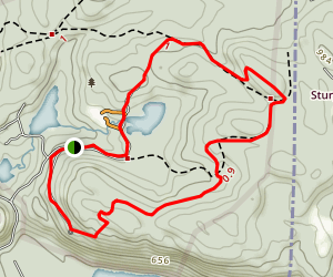 Bailey Mountain Map